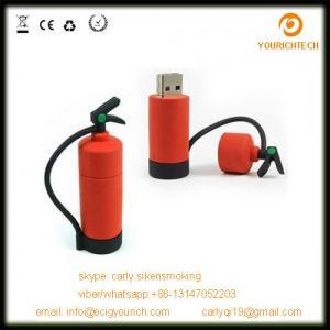 Buy cheap mini style fire extinguisher shape pvc mini usb sticks 32gb product
