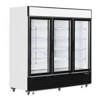Buy cheap 3 glass door fan cooling beverage display cooler for store and supermarket product