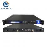 Buy cheap HD SD H 264 MPEG2 DVB S2 Encoder Modulator 950Mhz - 2150Mhz COL5011U-B product
