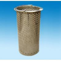 Buy cheap Polished  Perforated metal tube /perforated metal tube product