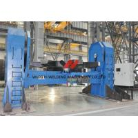 Buy cheap 1.5 Rpm Head / Tail Pipe Welding Positioners 800mm Worktable For Marine Building product