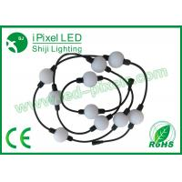 Buy cheap Outdoor IP65 DMX RGB LED Point Light Round With 360 Degree View 3D Effect product