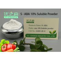 Buy cheap Power Plant Growth Regulator , Plant Growth Inhibitors S - ABA CAS NO 21293-29-8 product