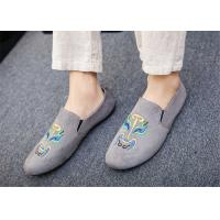 Buy cheap Black Gray Blue Loafer Slip On Shoes Driving Moccasins Shoes Breathable product