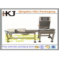 Buy cheap Professional Horizontal Check Weigher Machine / Online Weigher Machine OEM Available product