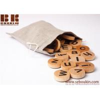 China Swedish letter kids wooden toys educational game alphabet kids christmas gift on sale