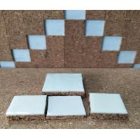 Buy cheap 40x40x10mm Glass & Mirror Seperating Cork Pad with PVC Foam Backing product