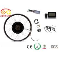 500 Watt Electric Bike Conversion Kit , Electric Bicycle Hub Conversion Kit With 22A Controller
