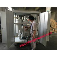 Buy cheap Manufacturer Vacuum Steam Turbine Oil Purifier,Emusified Oil Purification plant, turbine oil dehydrator with enclosure product