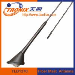 Buy cheap roof or rear deck mount fiber mast car antenna/ passive car am fm radio antenna TLD1370 product