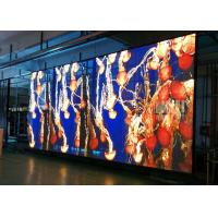 Buy cheap Full Color Transparent Led Display , 3 X 6mm See Through Led Screen 8kg product