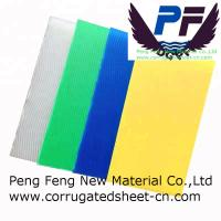 Buy cheap 2-12 mm white/black/blue/green color Lightweight Extruded Polypropylene corrugated sheet for packing industry product