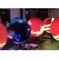 Buy cheap Waterproof Sphere Creative Led Display With 3840hz High Refresh Rate product