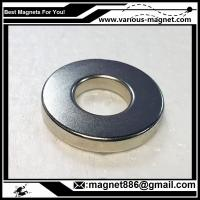 Buy cheap NdFeB Ring Magnet D34xd24xh10  N38 Coating Ni texture axial product