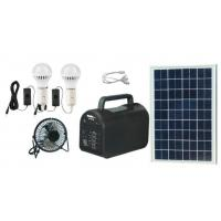 China 20w portable  solar power system solar energy off-grid solar power with mp3 and radio for Africa on sale