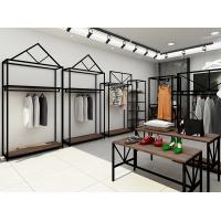 Buy cheap Professional Retail Clothing Display Units Steel Display Shelves For Women Clothing Store product