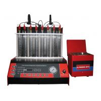 Performance Fuel Injector Testing And Cleaning Machine With Separate Ultrasonic Bath