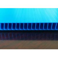 Buy cheap Environmentally Friendly Recyclable Fluted Plastic Sheets For Multi Purpose from wholesalers