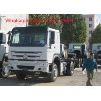 Buy cheap SINOTRUK HOWO ZZ4257S3241W 6x4 Right hand drive 371HP tractor truck product