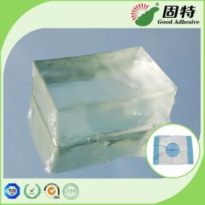 Buy cheap Colorless Block PSA Hot Melt Adhesive For Baby Paper Diaper Sanitary Mat product