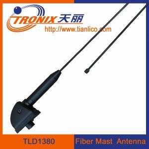 Buy cheap 1 section black fiber mast car antenna/ am fm radio car antenna TLD1380 product