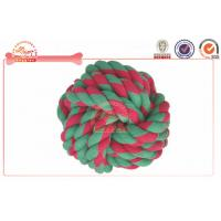 Buy cheap Knotted Ball Chewing Cotton Rope Dog Toy For Puppy , Large Dog Playing Chewing product