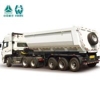 Buy cheap Hydraulic System Side Tipper Trucks , Tipping Chassis Trailers 40T Payload product