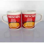Buy cheap wholesale Export NESCAFE ceramic mug custom  LOGO 9OZ red colors coffee mug product