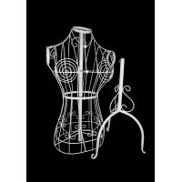 Buy cheap Jolly mannequins-vintage style female wire mannequin for with tripod stand JY-WM04 product