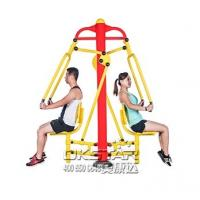 Buy cheap China TUV certificate with EN 16630 standard good quality Outdoor Fitness Equipment push trainer product
