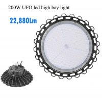 Buy cheap Industrial Dimmable UFO LED High Bay Light 100w 13220lm With Microwave Sensor product