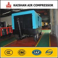 Buy cheap Rotary Screw Air Compressor LGCY-22/8 Diesel Power Mobile Air Compressor product