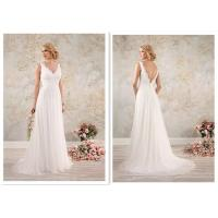 Buy cheap Bridal Ivory Chiffon Wedding Dress , Pregnant Women A Line Wedding Gown product