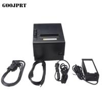 Quality wholesale 3'' 80mm lan+usb port anto cutter printer thermal printer POS receipt for sale