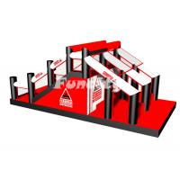 China Insane Giant Sport Games 5k Inflatable Obstacles Course With EN14960 For Adults on sale
