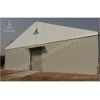 Buy cheap Durable Custom Big Industrial Storage Tents With Corrugated Sheet Wall product