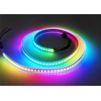 Buy cheap Non Waterproof Magic RGB LED Strip IP20 WS2813 144 Pixels Addressable product
