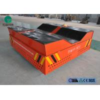 Buy cheap Heavy duty 300mm rubber wheel steel coilindustrial trackless transfer cart product