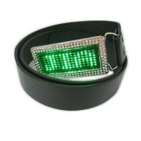 Buy cheap Scrolling message display led belt buckle product