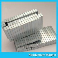 China 12000 Gauss Super Strong Neodymium Magnet Bar Shaped Anti - Corrosion on sale