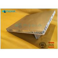 Buy cheap Rock Wool Backed Composite Stone Panels Cladding Module For Office Building product