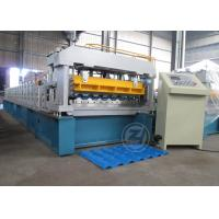Mitsubishi PLC  High Speed Metrocopo Tile Roll Forming Machine with ISO system