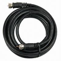 Buy cheap Coaxial cable/9.5mm RG58 cable with F male to F male connector product