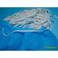 China PP Shoe Cover Use White double elastic straps on sale