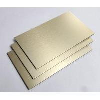Brushed Aluminum Composite Panel : Width brushed acp acm aluminium composite panel