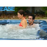 Buy cheap Good Price Combo Massage Outdoor Whirlpool Massage Bathtub with 4 Seats + 2 Lounges product