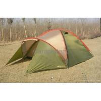 China OEM outdoor large luxury waterproof camping tents in 190T Polyester on sale