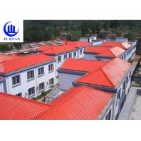 Customized Synthetic Resin Roof Tile Rubber ASA Spanish Bamboo Roofing Sheets