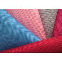 China 1680d PVC Coated Polyester Mesh Fabric , Plastic Coated Fabric on sale