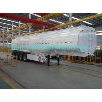 33 Cbm Heavy Duty Semi Trailers Oil Tank Trailer Stainless Steel 304 Material